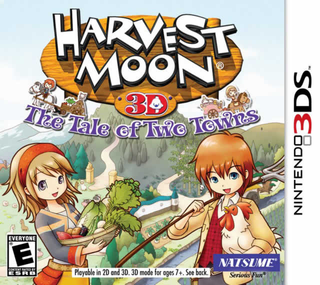 Harvest Moon: Tale of Two Cities Cover Box Shot