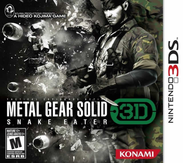 Metal Gear Solid: Snake Eater 3D Box Shot