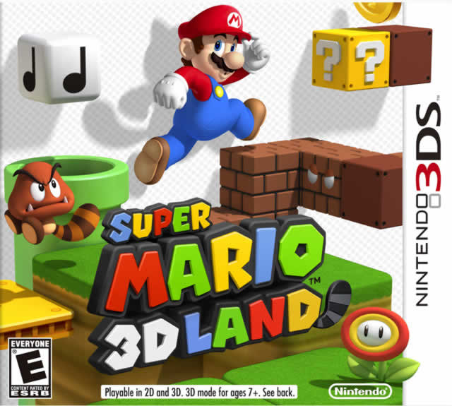 Super Mario 3D Land Box Shot