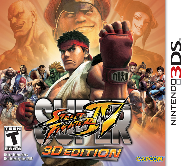 Super Street Fighter IV 3D Edition Box Shot