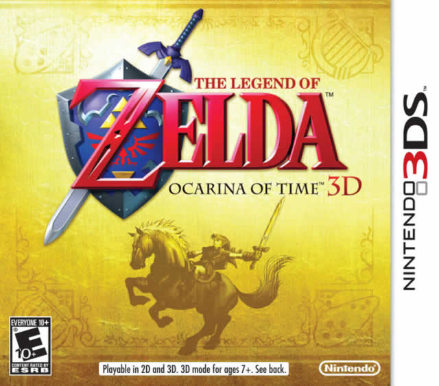 The Legend of Zelda: Ocarina of Time 3D Box Shot