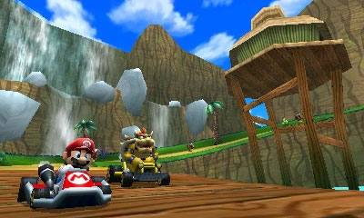 Mario Kart 7 Torrent Screenshot