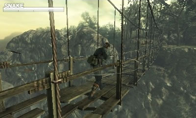 Metal Gear Solid: Snake Eater 3D Torrent Screenshot