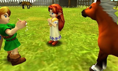 The Legend of Zelda: Ocarina of Time 3D Torrent Screenshot